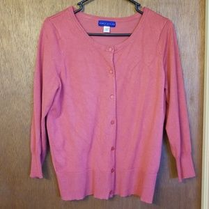Simply Styled Coral Cardigan